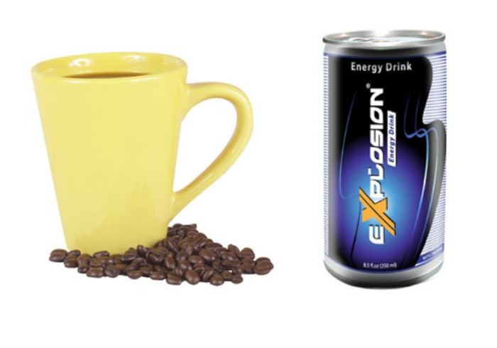 Why isn't coffee allowed but energy drinks are?
