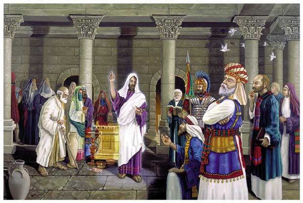 Did Jesus receive temple ordinances?