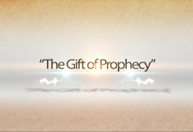 "Is the ""Spirit of prophecy"" and the ""Gift of prophecy"" the same thing?"