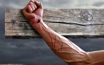 Is the idea of Christ having nails driven through his wrists unique to the LDS Church?