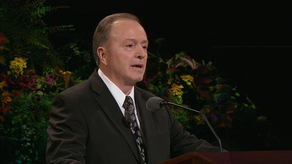What are local and ethnic traditions spoken of in Elder Lynn G. Robbin's talk in General Conference?