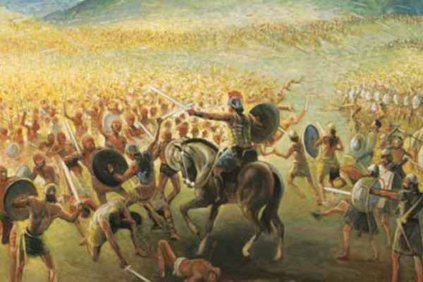 Why has there not been remains found from all of the wars in the Book of Mormon?