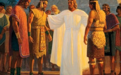 When Christ visited the Americas, who were the 12 Apostles chosen?
