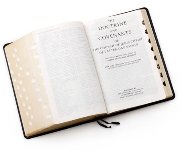 Why is the Doctrine and Covenants not arranged in chronological order?
