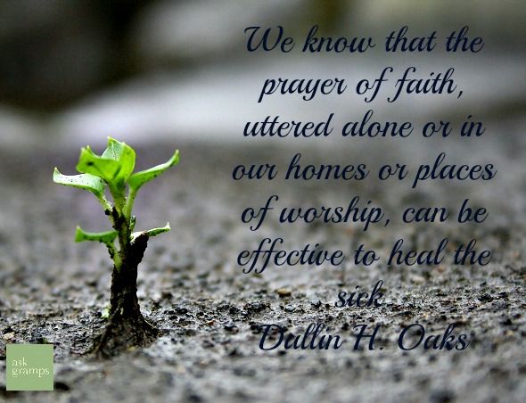 Can miracles be performed by faith alone?