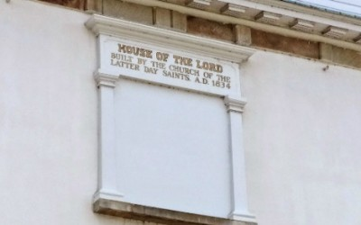 How did the LDS church get its official name?
