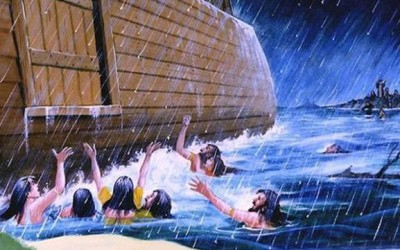 Was the flood a form of baptism for the earth?