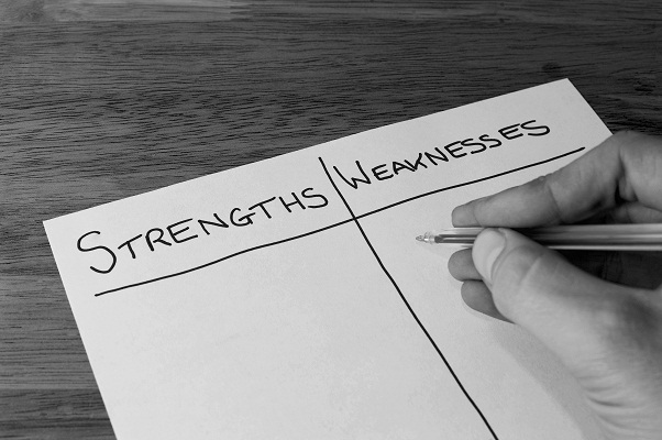 Strengths and Weaknesses Essay Sample