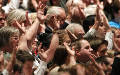 Was the sustaining process in our Stake Conference correct?