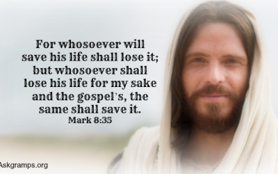 If put in a life or death situation, is denying I'm a Christian the same as denying Christ?
