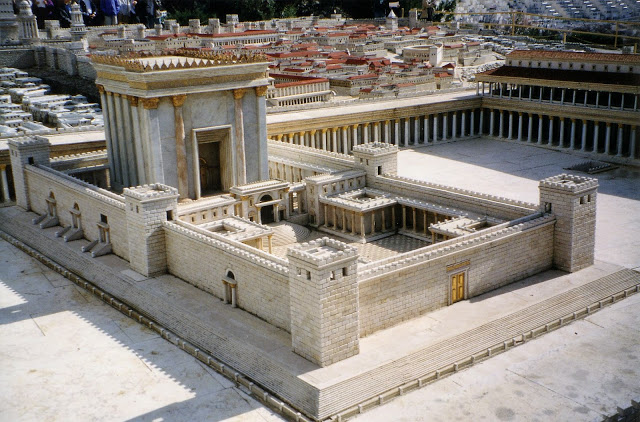 One of the signs of the Second Coming is a temple built in Jerusalem.  Is this New Jerusalem or Old Jerusalem?