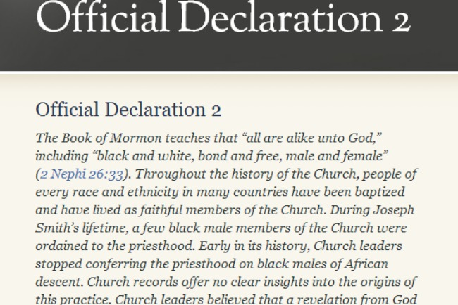 What Is The Difference Between An Official Declaration And A Change