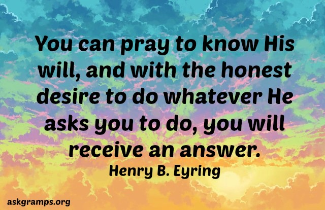 Would God answer my prayers regarding a non believer?