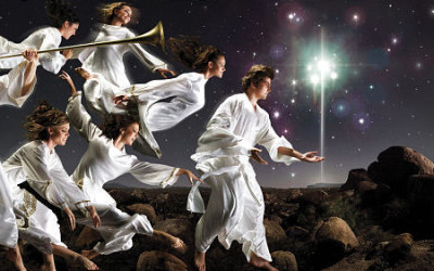 What do the scriptures mean about the gift of ministering angels?
