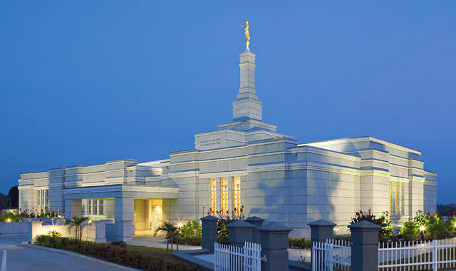 Why do temples seem to be built in rich areas?