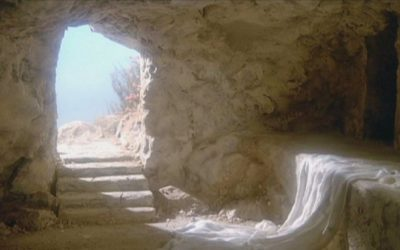 How is it figured that Christ spent three days in the tomb?