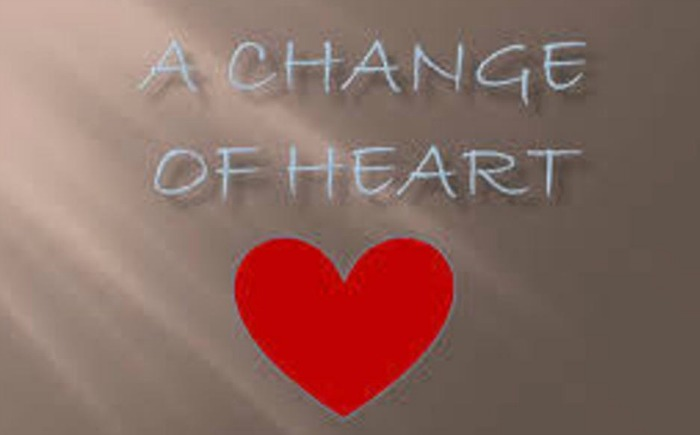 What exactly is involved in obtaining a change of heart?
