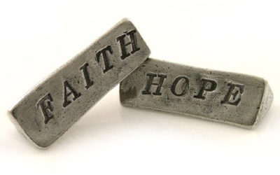 What is the difference between having faith and having hope?