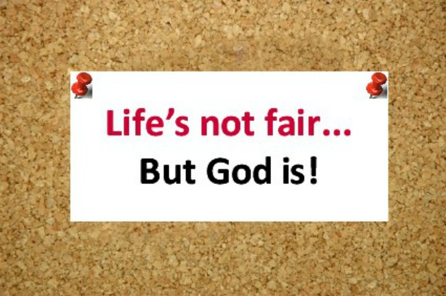 Why isn't God fair?
