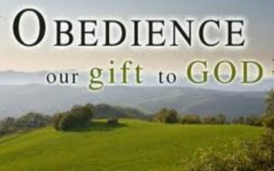 Should we be obedient just to obtain blessings?