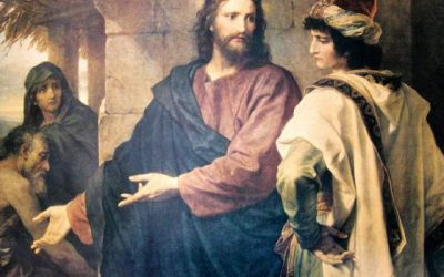 When the rich man asked Jesus questions, why didn't He teach the first discussion?