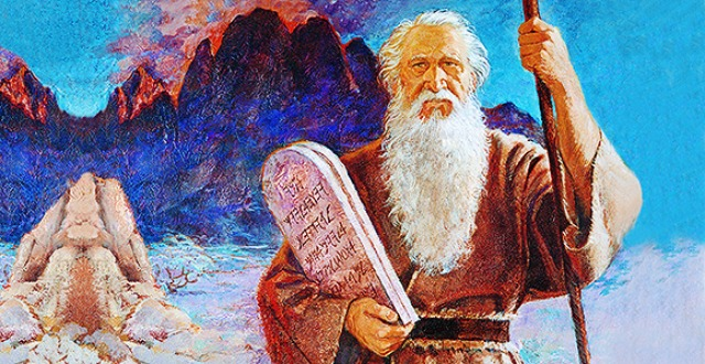 What is the difference between commandments and laws?