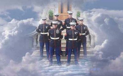 Why doesn't the Church preach about the United States Marine Corp guarding the gates of heaven?