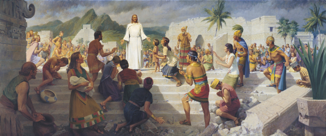 What is the timeline between Christ's resurrection and His visit to the Nephites?