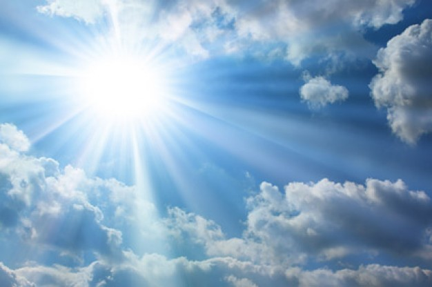 Where did the light come from mentioned in Genesis 1:3?