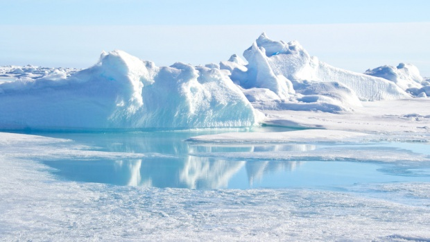 Would the lost ten tribes be living somewhere under the ice near the North Pole?