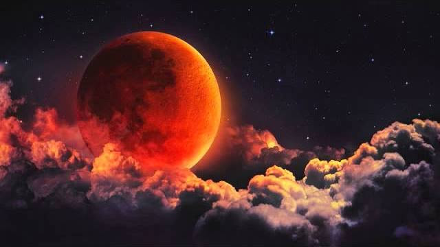 What do the scriptures mean that say that the moon will turn to blood?