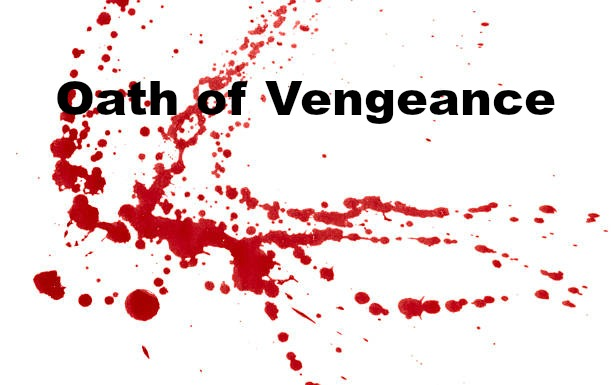How can the 'oath of vengeance' be part of the gospel of Jesus Christ?
