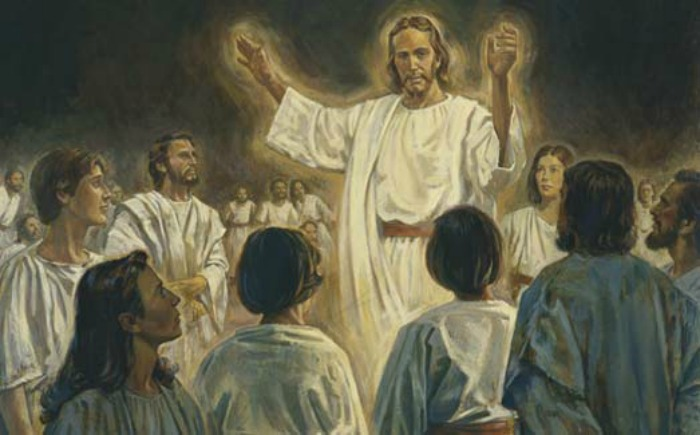 Did the Savior Himself preach to the spirits in prison, as mentioned in 1 Peter 3:18-20, or did He send others in His behalf?