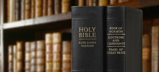 Where in the Bible does it say that there is a Mormon book?