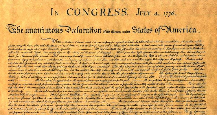 How can the Declaration of Independence and the American Revolution be inspired by God?