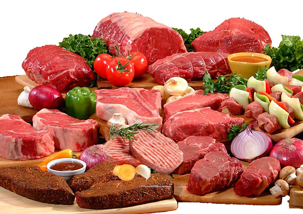 How much meat is sparingly?