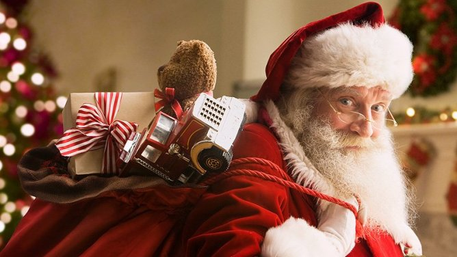 How did Santa become a part of Christmas?