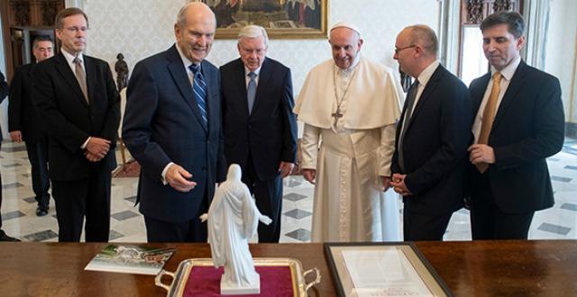 What do Latter-day Saints think of Catholics?