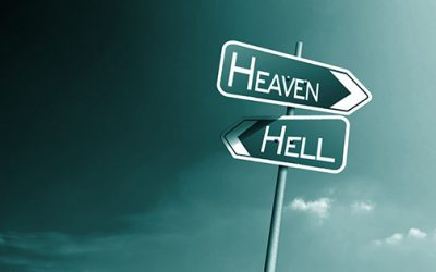 Does heaven and hell refer to paradise and spirit prison?