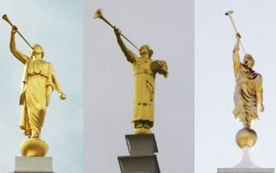 Why isn't Gabriel on top of the temples instead of Moroni?