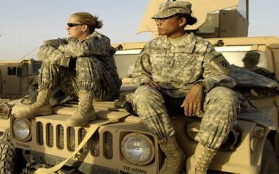 Is it still true that the Church doesn't support women in combat?