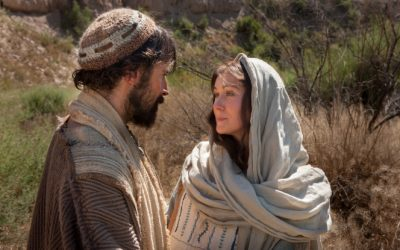 Where was Mary and Joseph when Jesus died?