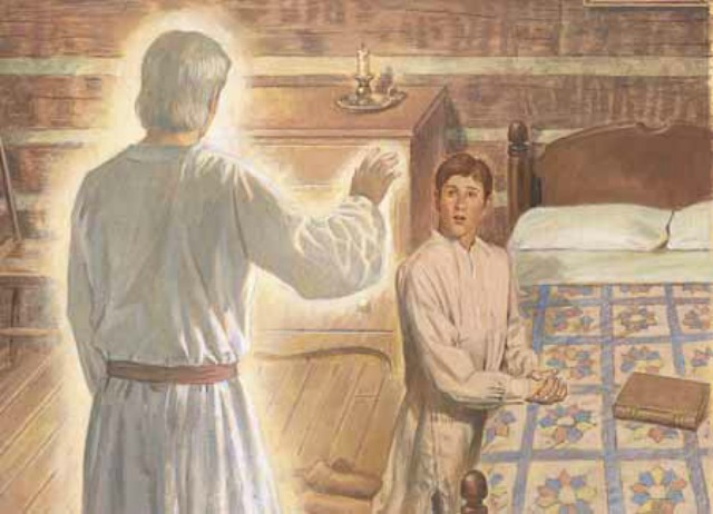 Was Moroni a resurrected being when he appeared to Joseph Smith?