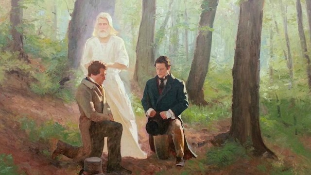 Wasn't there a better choice of a person to give Joseph Smith the Priesthood?