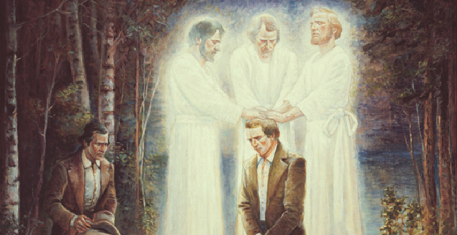 How could Peter, James and John appear to Joseph Smith if no second coming of Christ?