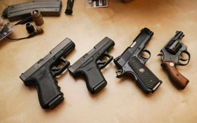 What have the brethren said about firearms for protection in the home?