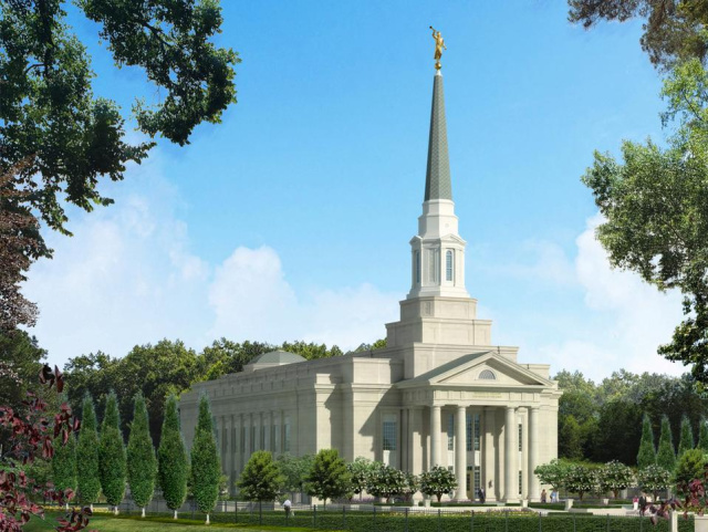 How do our temples reconcile with Acts 17:24?