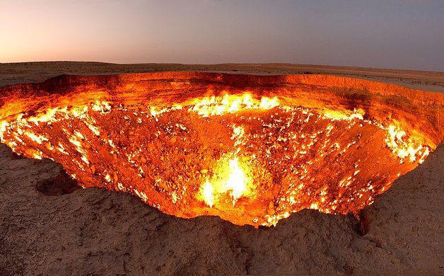 Are the gates of hell a physical place?