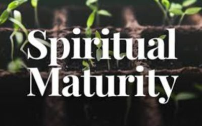 How would you explain or describe spiritual maturity?