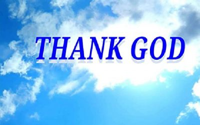 "Is saying ""Thank God"" taking the Lord's name in vain?"